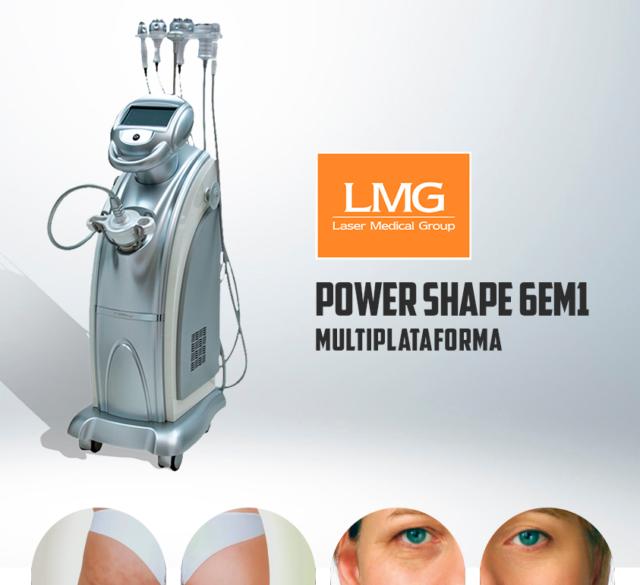 Alugar locar aluguel locação equipamento Multiplataforma Power Shape 6 em 1 LMG Lasers